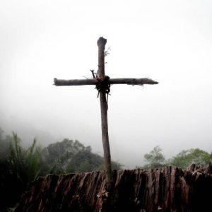 Biały krzyż KARAOKE