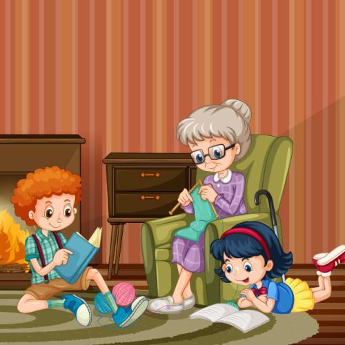 Babcia ma święto - podkład muzyczny - Jangok - Dzień Babci i Dziadka
