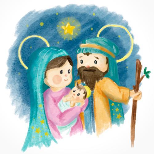 Narodził się Jezus Chrystus - podkład - Jangok - wesoła kolęda - wesoła pastorałka