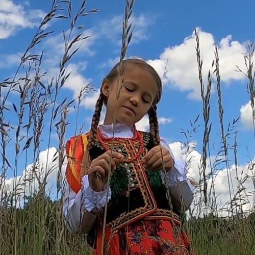 Laboga dziewuszki - Krakowiak - Piosenki ludowe dla dzieci - podkład - Jangok